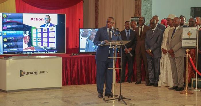 TNT au Senegal - Le President Macky SALL donne le Top Depart 2