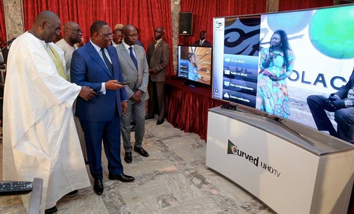 TNT au Senegal - Le President Macky SALL donne le Top Depart 6