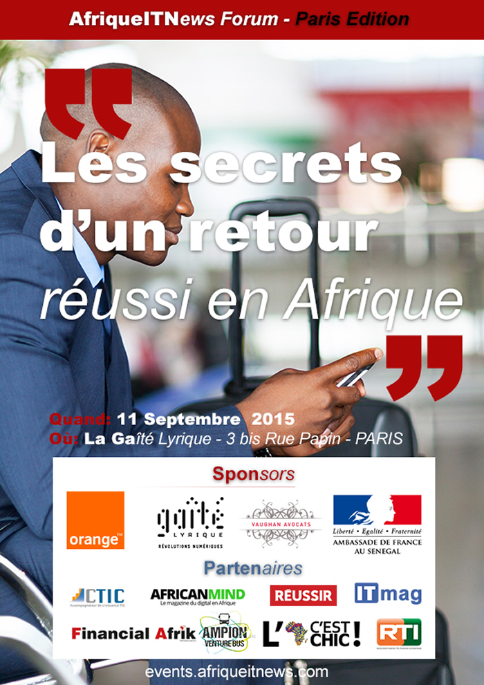 AfriqueITNews Forum Paris Edition - Sponsors