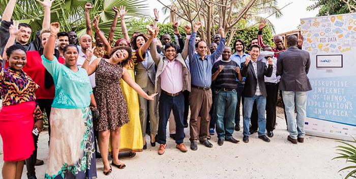 Internet des Objets et Big Data en Afrique - lancement officiel du programme Waziup - IOT 2