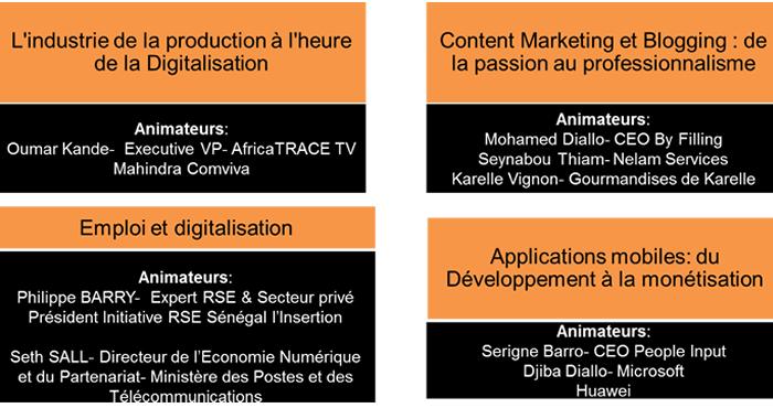 Dakar Digital Show 2016-Ateliers